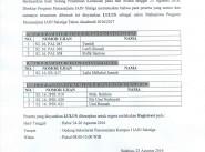 PENGUMUMAN HASIL PENERIMAAN MAHASISWA BARU GELOMBANG III PASCASARJANA IAIN SALATIGA TAHUN AKADEMIK 2016/2017